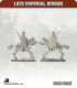 10mm Late Imperial: (Roman) Heavy Cavalry with Spear and Shield