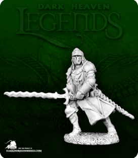 Dark Heaven Legends: Black Legionnaire with Flamberge