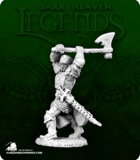 Dark Heaven Legends: Black Legionnaire with Axe