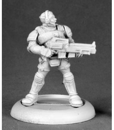 Chronoscope (NOVA Corp): Garvin Markus, Nova Corp Hero