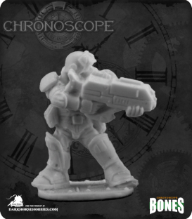 Chronoscope Bones (NOVA Corp): Slyder, IMEF Trooper
