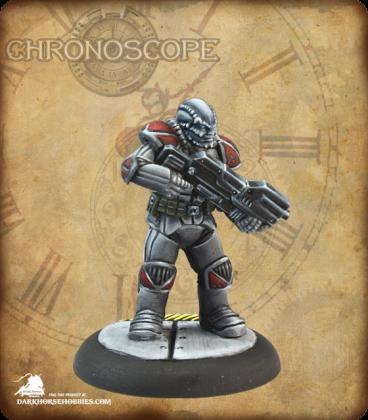Chronoscope: Malvernis Soldier (painted by Martin Jones)