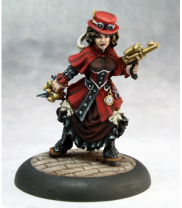 Chronoscope: Rowena Von Graaf (painted by Martin Jones)