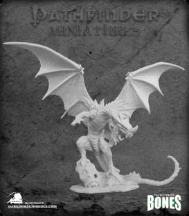 Pathfinder Bones Miniatures: Red Dragon
