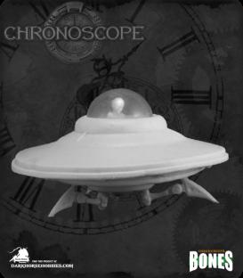 Chronoscope Bones (Alien Worlds): Flying Saucer
