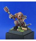 Warlord: Mercenaries - Thunginar, Dark Dwarf Captain (painted by Jim Cook Jr)