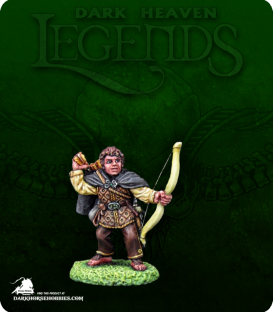 Dark Heaven Legends: Puck Piperdale (painted by Derek Schubert)