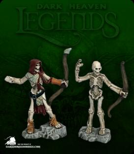 Dark Heaven Legends: Skeleton Archers (painted by Katie Sommer)