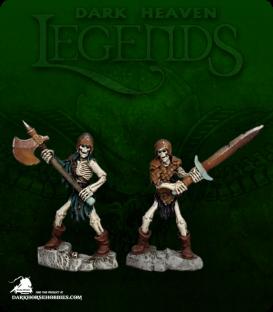 Dark Heaven Legends: Skeleton Breakers (painted by Katie Sommer)