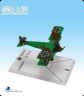 Wings of Glory: WW1 Halberstadt D.III (Camouflage) Airplane Pack
