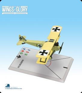 Wings of Glory: WW1 Halberstadt D.III (Keudell) Airplane Pack