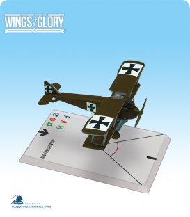 Wings of Glory: WW1 Halberstadt D.III (Luftstreitkräfte) Airplane Pack