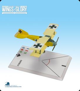 Wings of Glory: WW1 Albatros D.II (Szepessy-Sokoll) Airplane Pack
