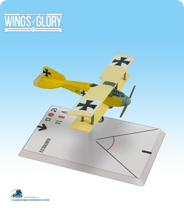 Wings of Glory: WW1 Albatros D.II (Szepessy-Sokoll) Airplane Pack