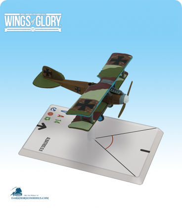 Wings of Glory: WW1 Albatros D.II (von Richthofen) Airplane Pack