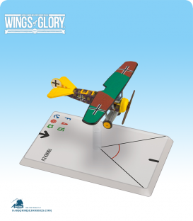 Wings of Glory: WW1 Fokker E.V. (Sharon) Airplane Pack