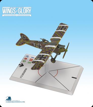 Wings of Glory: WW1 Halberstadt CL.II (Schlachtstaffel 23b) Airplane Pack