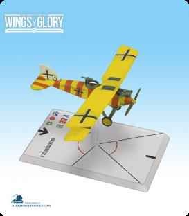 Wings of Glory: WW1 Halberstadt CL.II (Niemann/Kolodzicj) Airplane Pack