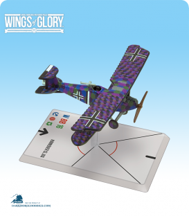Wings of Glory: WW1 Hannover CL.IIIa (Baur/Von Hengl) Airplane Pack