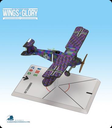 Wings of Glory: WW1 Hannover CL.IIIa (Baur/Von Hengl) Airplane Pack