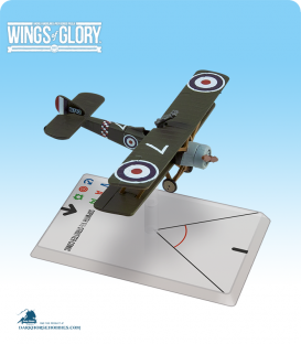 Wings of Glory: WW1 Sopwith 1½ Strutter Comic (78 Squadron) Airplane Pack