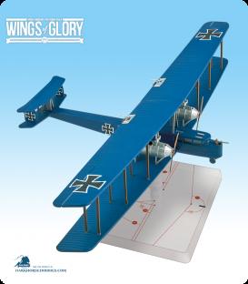 Wings of Glory: WW1 Zeppelin Staaken R.VI (Schoeller) Airplane Pack