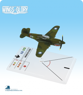 Wings of Glory: WW2 Curtiss P-40E Warhawk (Hill) Airplane Pack