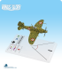 Wings of Glory: WW2 Reggiane Re.2001 Falco II (Cerretani) Airplane Pack