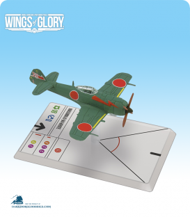 Wings of Glory: WW2 Nakajima Ki-84 Hayate (Imoto) Airplane Pack
