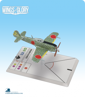 Wings of Glory: WW2 Nakajima Ki-84 Hayate (52 Sentai) Airplane Pack