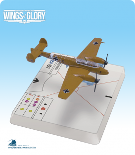 Wings of Glory: WW2 Messerschmitt Bf.110 C-7 (Christl) Airplane Pack