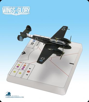 Wings of Glory: WW2 Messerschmitt Bf.110 C-4 (Radusch) Airplane Pack
