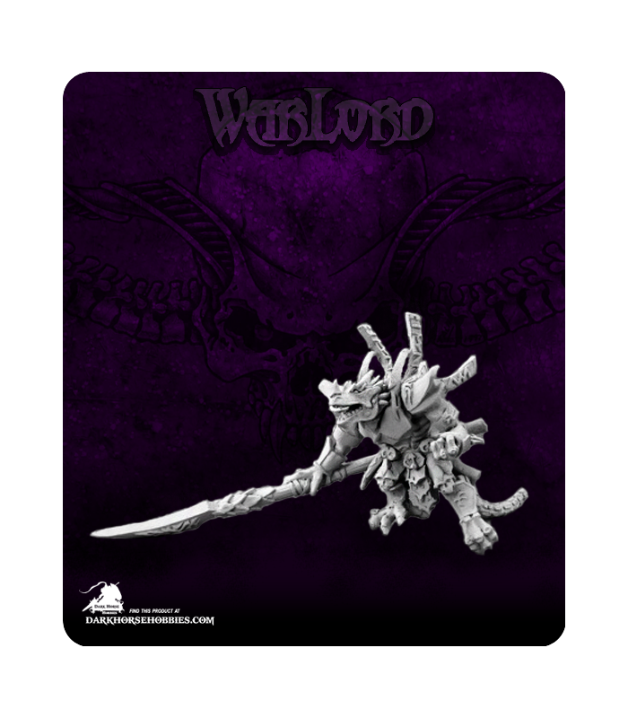 1x broodmaster dragon rider-warlord reaper miniature rpg rpg reptus 14549