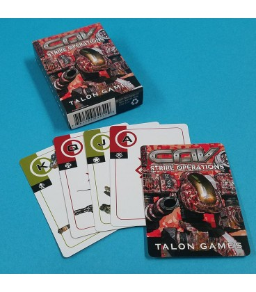 CAV: Strike Operations Themed Playing Cards