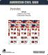 10mm American Civil War: CS National Flags