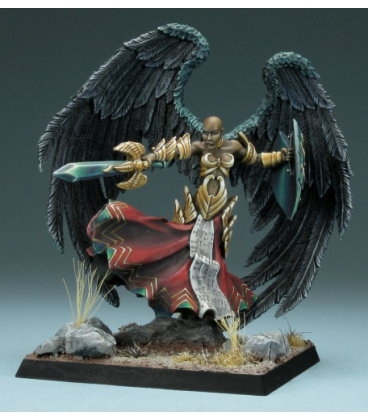 Dark Heaven Legends: Angel of Vengeance (painted by Marike Reimer)