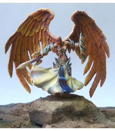 Dark Heaven Legends: Angel of Vengeance (painted by Anne Cooper)