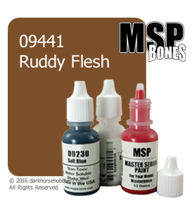 Master Series Paint: Bones Colors - 09441 Ruddy Flesh (1/2 oz)