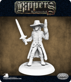 Savage Worlds: Rippers - Witch Hunter (Male)