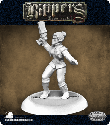 Savage Worlds: Rippers - Masked Crusader (Female)