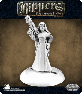 Savage Worlds: Rippers - Order of St. George Nun