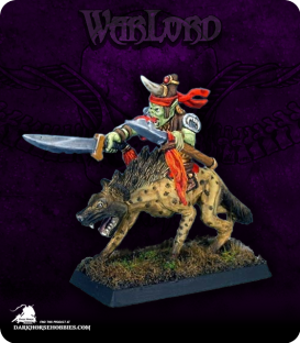 Warlord: Reven - Ogg, Goblin Beastrider Captain (painted by Dee Lauritzen)