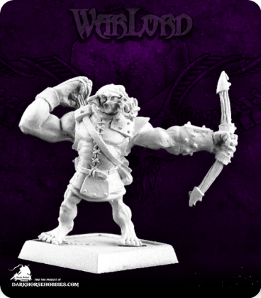 Warlord: Reven - Bull Orc Archer Adept