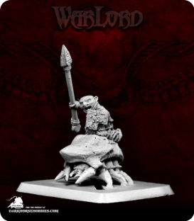 Warlord: Bloodstone Gnomes - Beetle Rider, Lancer