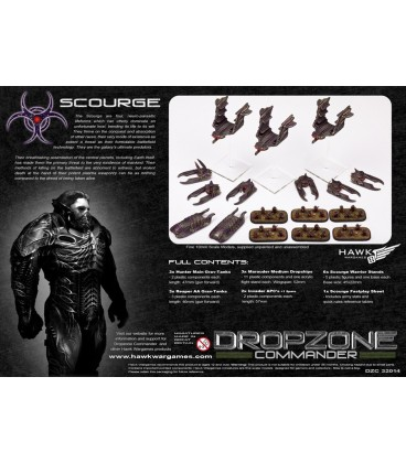 Dropzone Commander: Scourge Core Starter Army (In Plastic)
