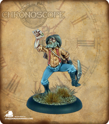 Chronoscope (Wild West): Crazy Pete, Prospector (painted by SuperblyPainted)