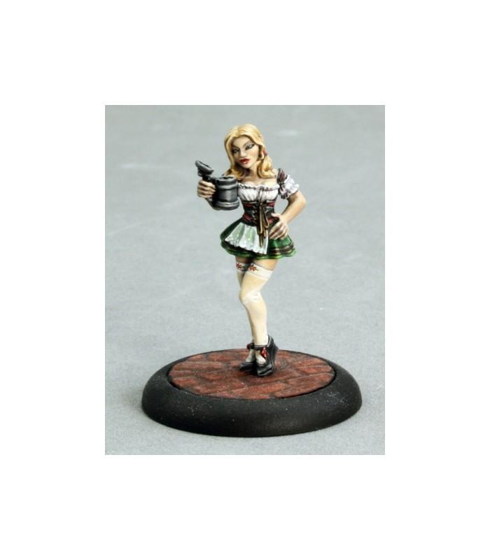 Oktoberfest Fraulein Miniature by Reaper Miniatures RPR 50118 Gretchen