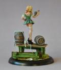 Chronoscope: Gretchen, Oktoberfest Fraulein (painted by Bar Van Kerckhove)