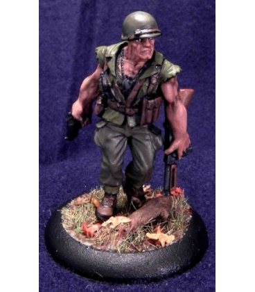 Chronoscope: Sgt. Mack Torrey (painted by Chris Mosely)