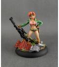 Chronoscope: Gretha, Female Sniper (painted by Jim Cook Jr)